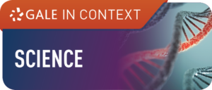 Image of DNA text reads 'gale in context: science' on a purple and orange background