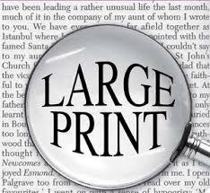large print image