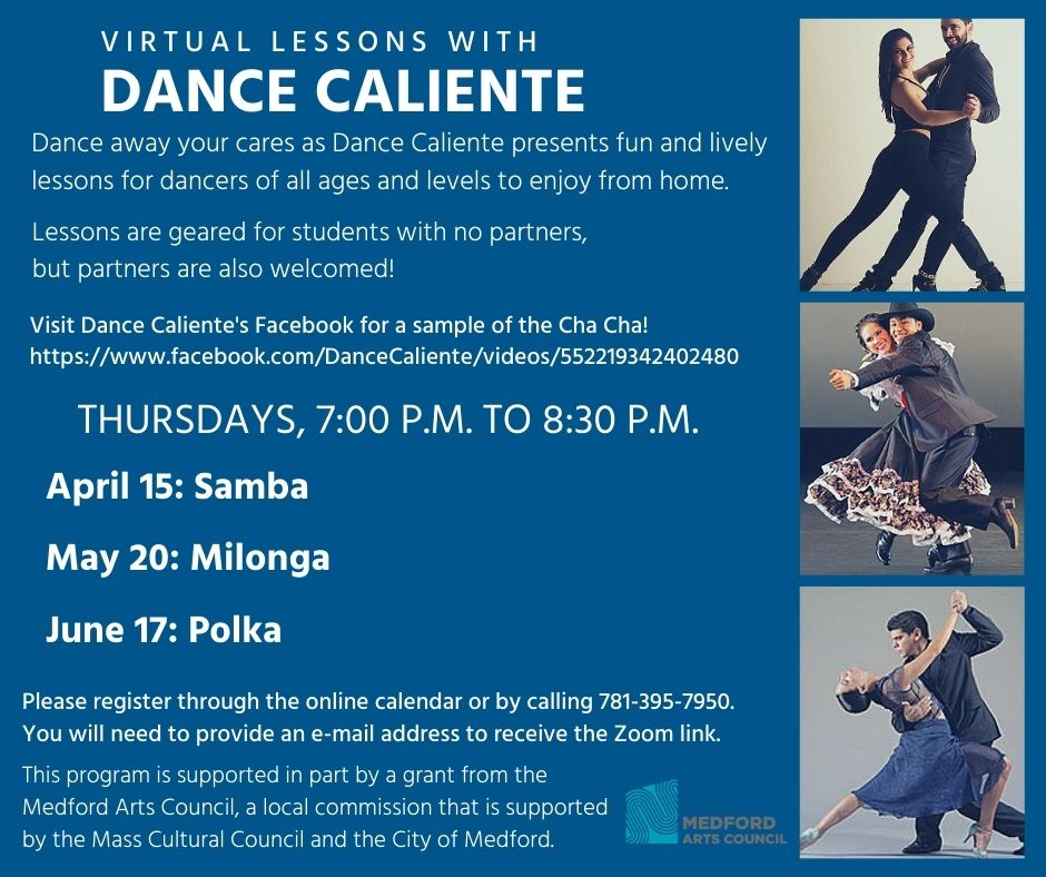 Dance Caliente Spring Zoom Events image