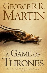 Book cover - science fiction and fantasy - a game of thrones