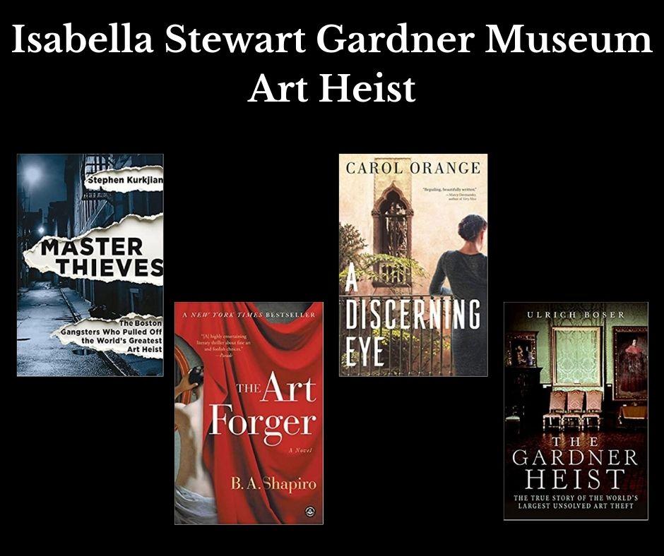 Isabella Steward Gardener Art Museum Heist, SelectReads book image and link.