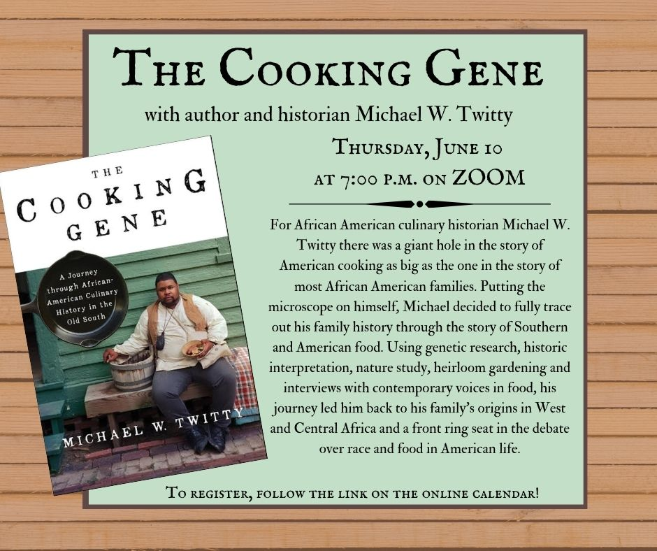 The Cooking Gene Zoom event image