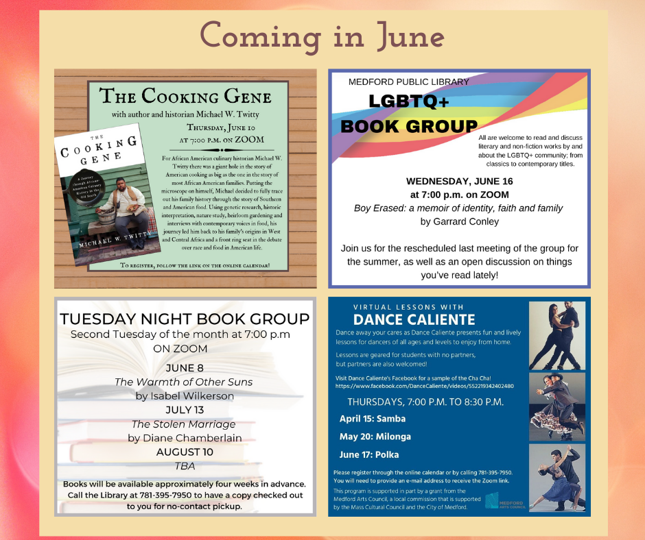 June Events At A Glance