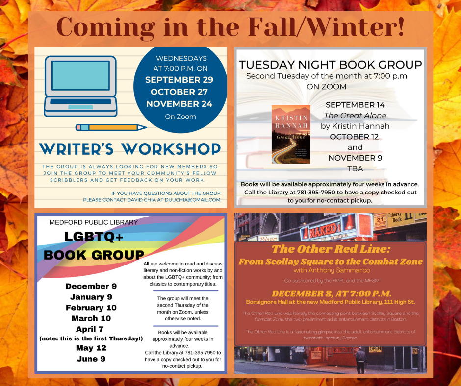 Fall Events At A Glance