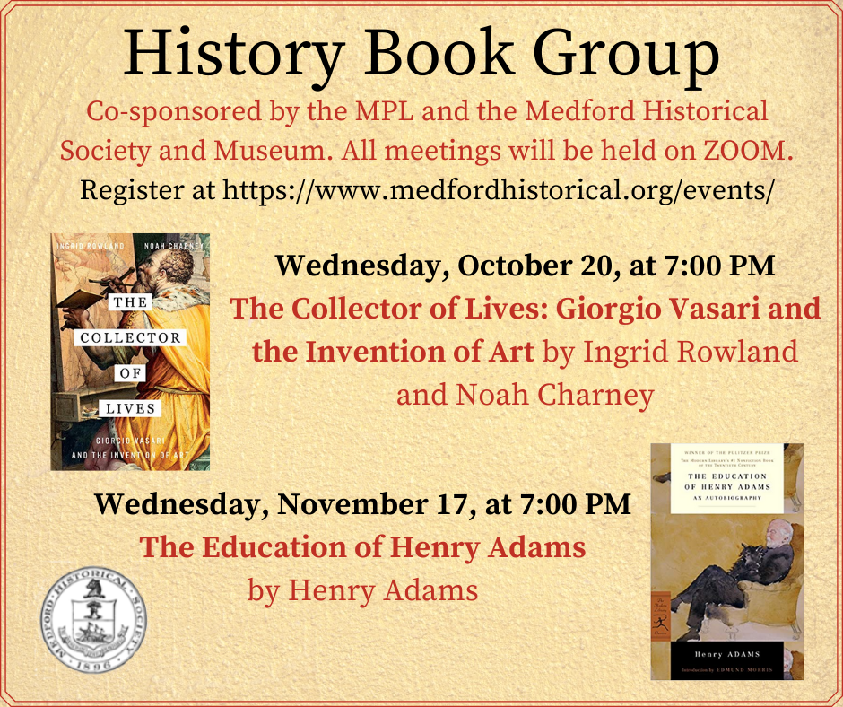 History Book Group Fall 2021 event image